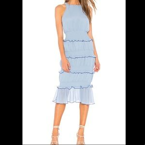Lovers + Friend Tiered Sleeveless Dress